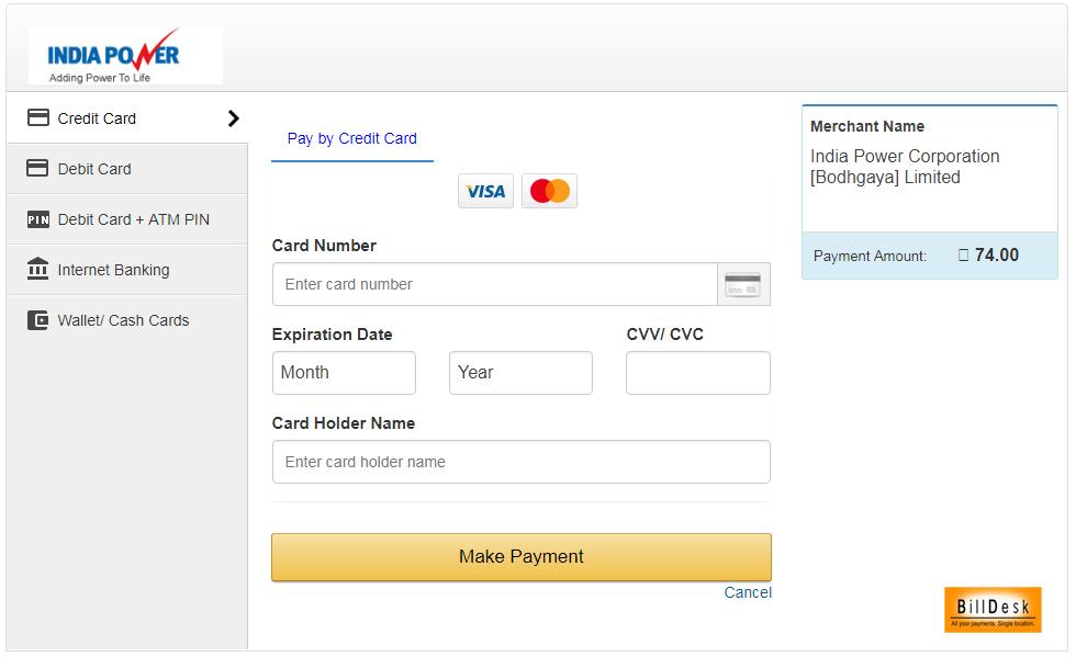 IPCL Gaya Payment